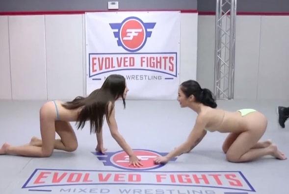 Garotas Lesbicas no MMA Da putaria
